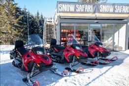 Zakopane Atrakcja Skutery śnieżne Snow Safari Poland Snowmobile